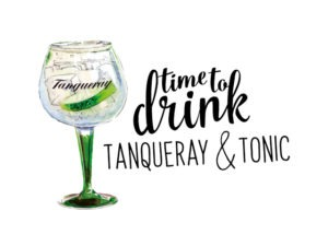Time to Drink – Tanqueray & Tonic